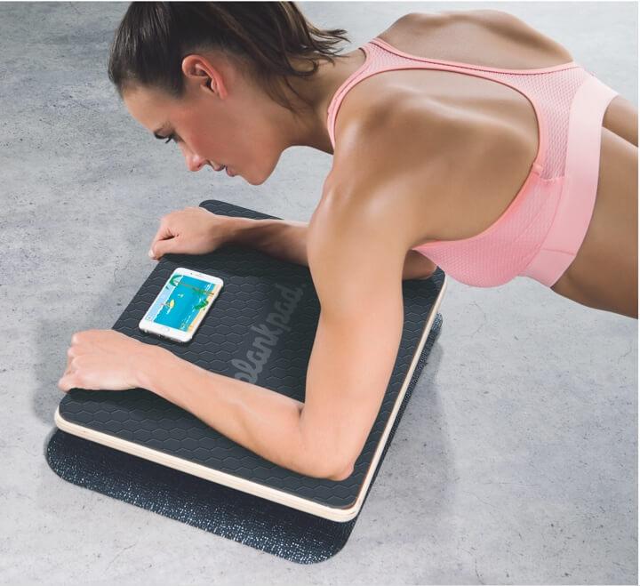 Plank Workout auf dem Plankpad