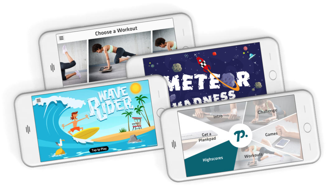 Plankpad App für iOS und Android
