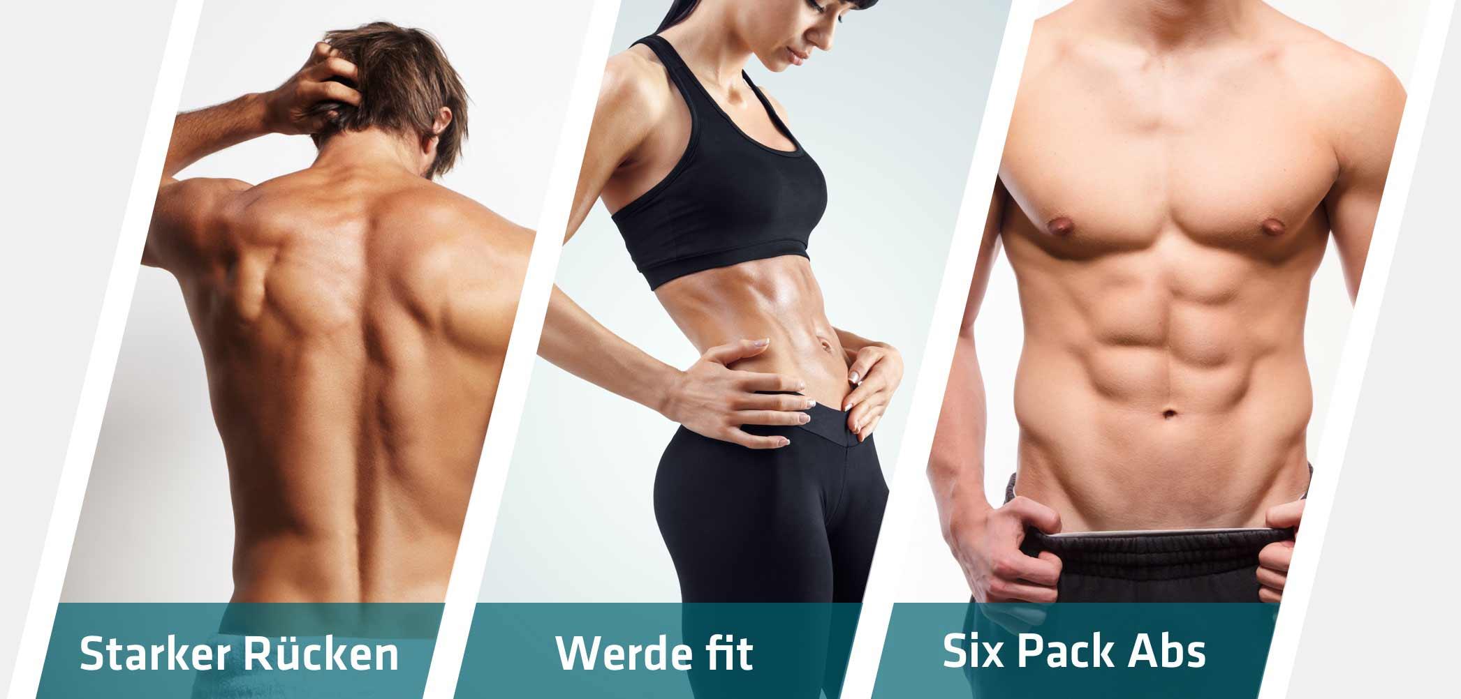 Starker Rücken, fit werden und SixPack antrainieren