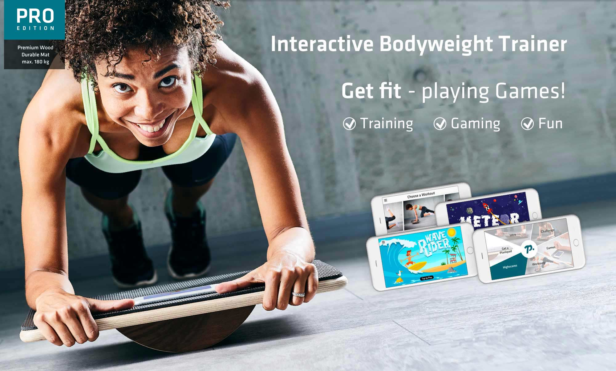 Your Interactive Bodyweight Trainer