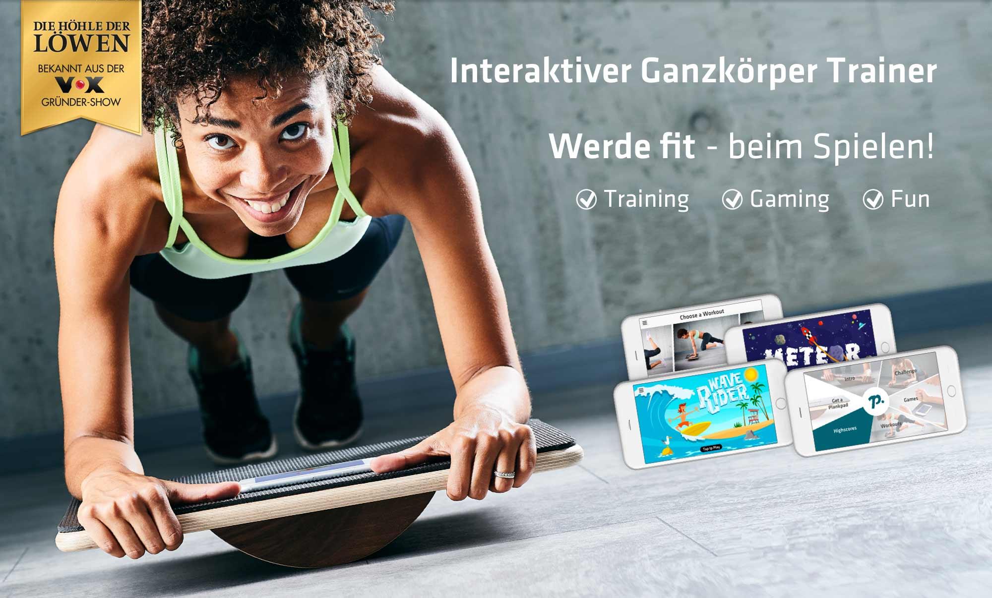 Plankpad dein interaktiver Ganzkörper Trainer