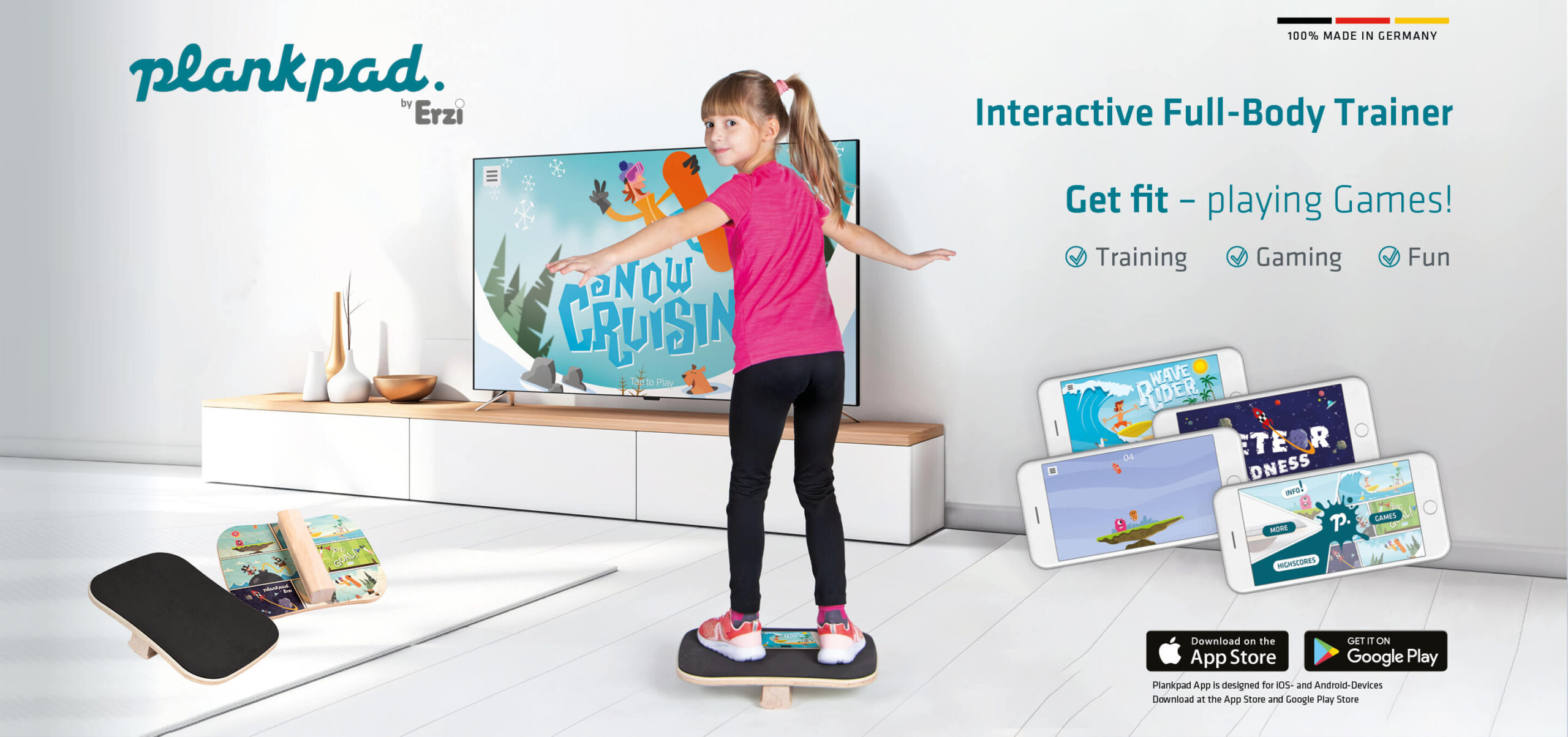 Plankpad KIDS - Balance Board for Kids